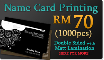 RM70/1000pcs Name Card